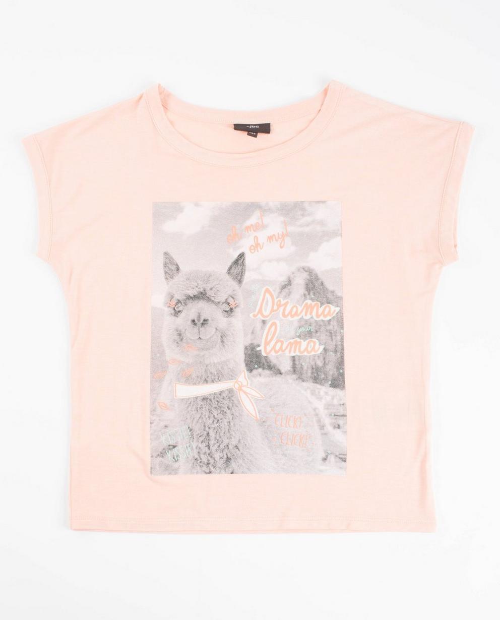 T-shirt à imprimé - jaune - JBC